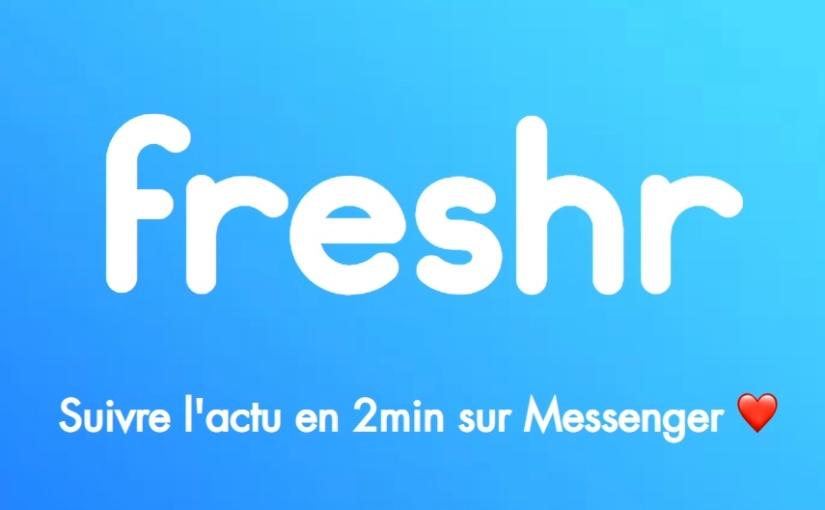 Freshr : Brèves d'actualités Sciences & Tech – Sélection Octobre / Novembre2018